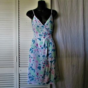 American Apparel wrap around dress XS/S